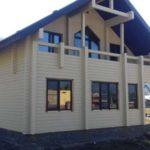 Дом из бруса производства Алтайлес